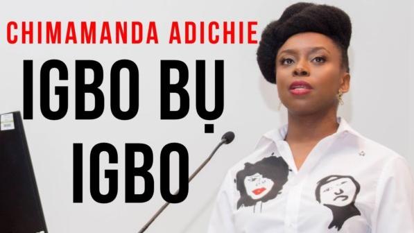 Chimamanda Ngozi Adichie Igbo bu Igbo keynote