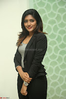 Actress Eesha Looks gorgeous in Blazer and T Shirt at Ami Tumi success meet ~  Exclusive 078.JPG