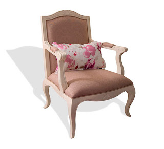 Sillon Tapizado Blanco 2 Paris