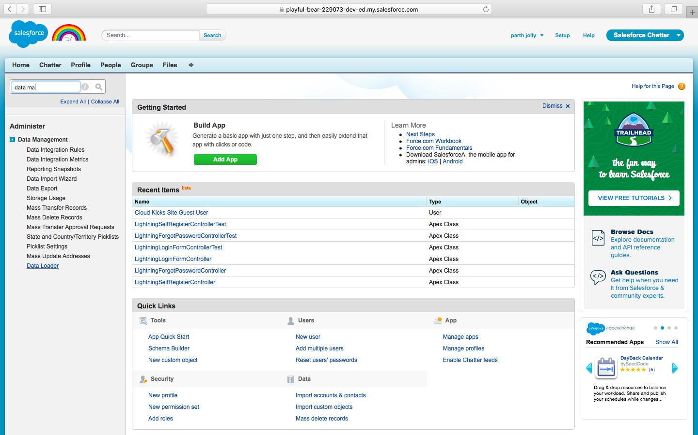 apex data loader download for windows