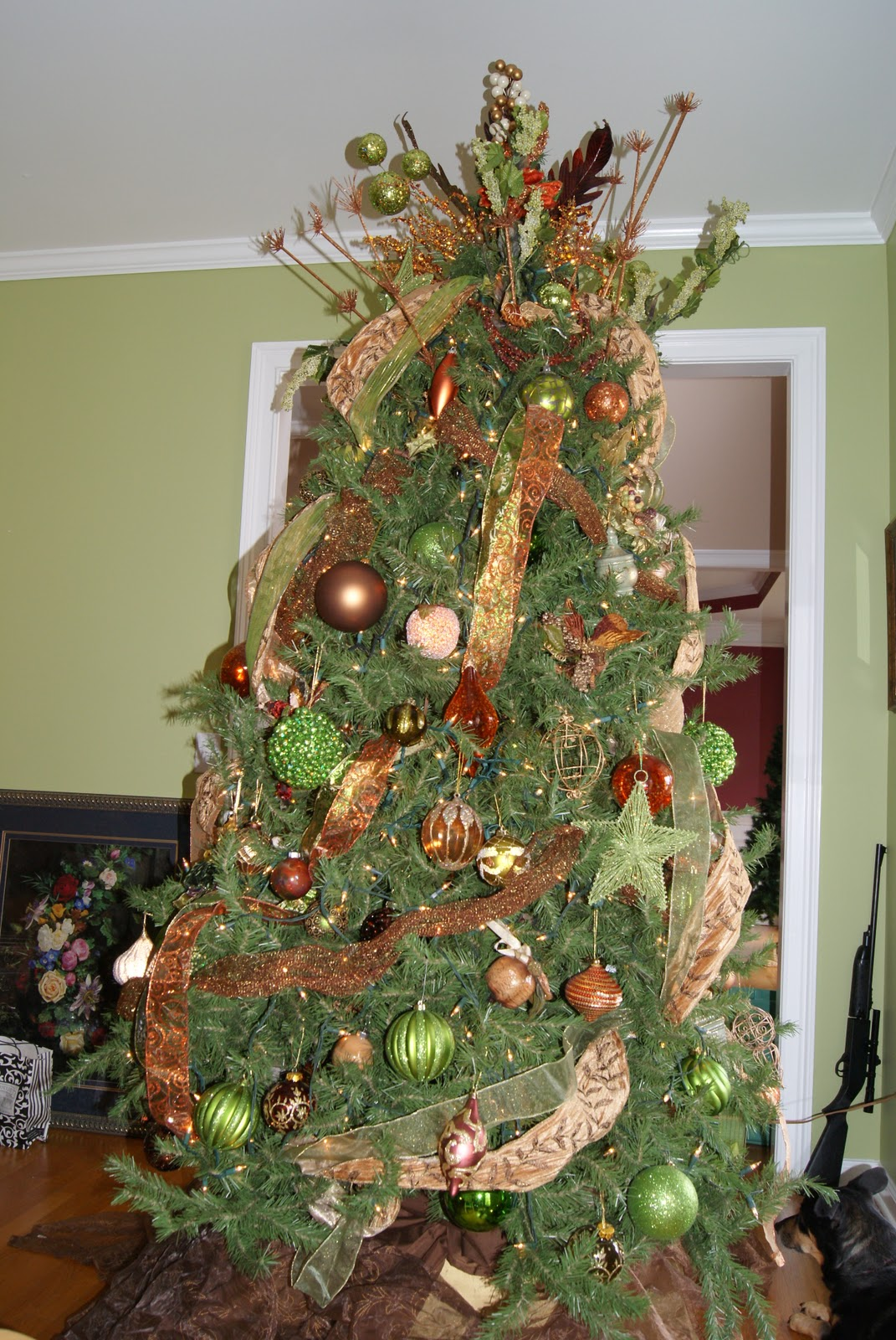 lime green christmas tree decorations. Black Bedroom Furniture Sets. Home Design Ideas