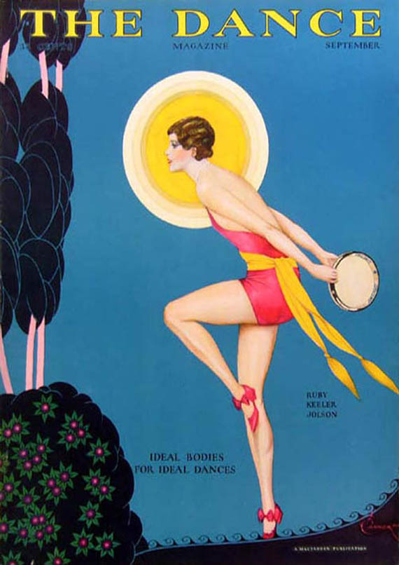 "portada de la revista ""The Dance"" publicada en 1929"