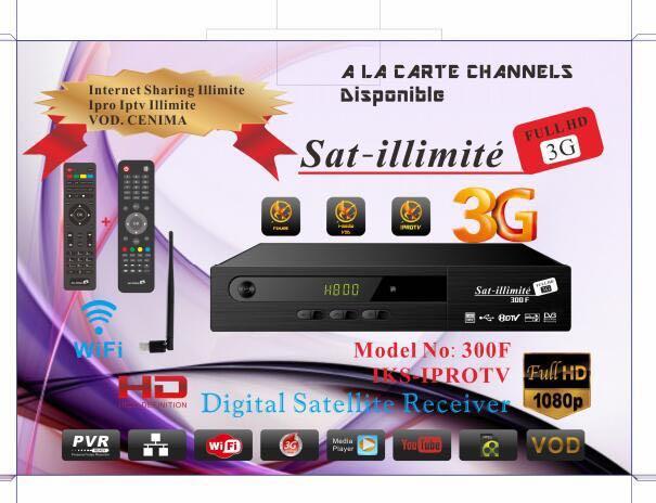 bientôt la magnifique nouveaux récepteur Satilimite - Team Télévision