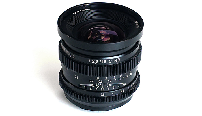 SLR Magic CINE 18mm f/2.8