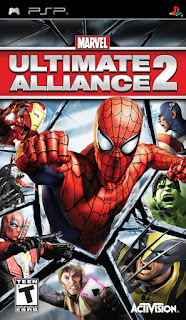 Marvel Ultimate Alliance 2 ISO PPSSPP