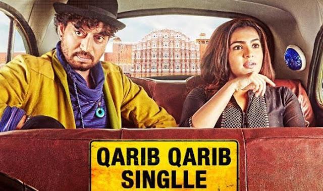 Qarib Qarib Singlle, Poster, Irrfan, Tanuja Chandra,Parvathy