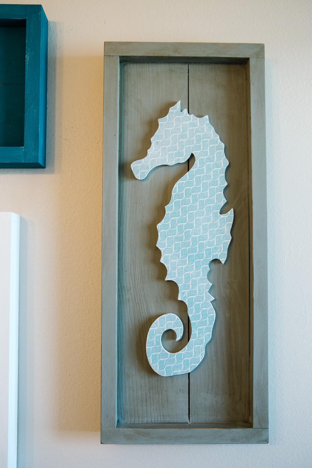 Nautical Bathroom Decor The Wood Connection Blog Seahorse Set