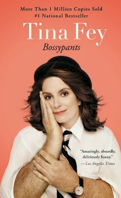 Bossypants by Tina Fey - book cover