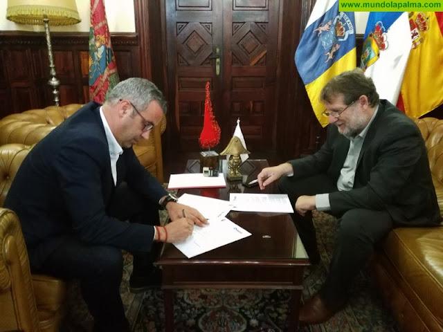 El Ayuntamiento de Santa Cruz de La Palma y Radio ECCA renuevan su acuerdo a favor de la formación educativa