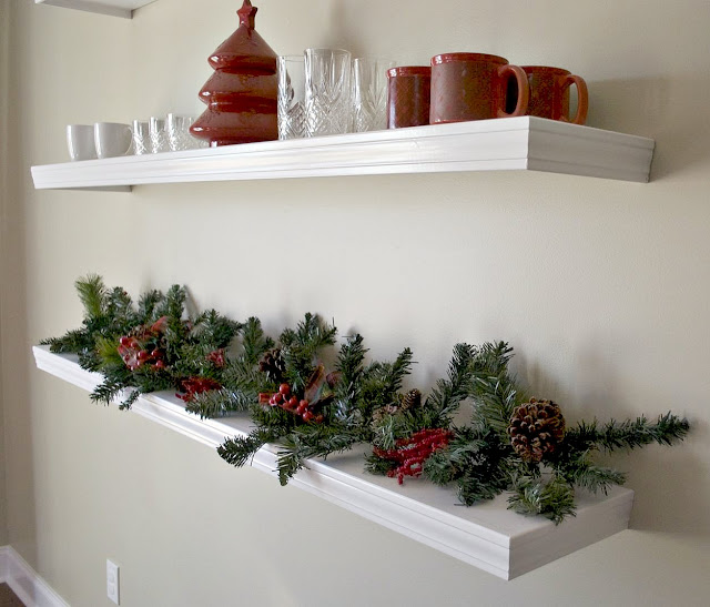 Low Country Living Pb Knock Off Floating Shelves