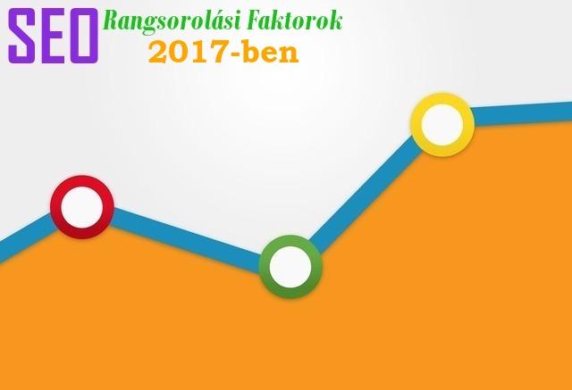 seo rangsorolási tényezők 2017