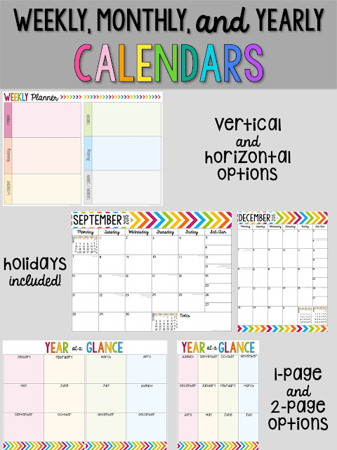 Editable Teacher Planner Time Saving Forms For Teachers