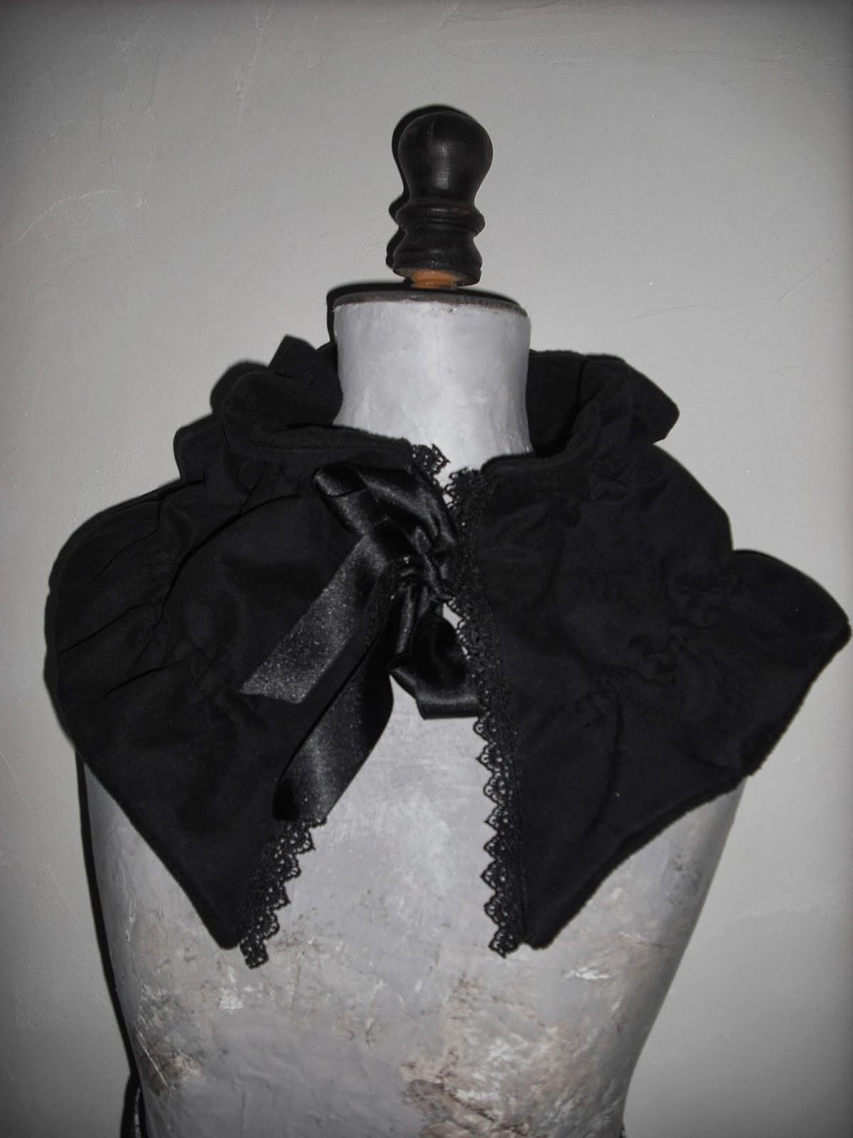 Mlle Chacha Accessoires de mode   col, écharpe, bandeau...  Col ... 7199292d42a