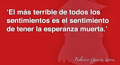 frases de Federico García Lorca