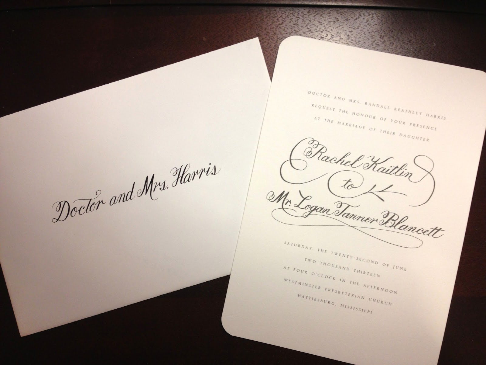 How To Write On Envelope For Wedding Invitations: Writing By Hand: Wedding Calligraphy
