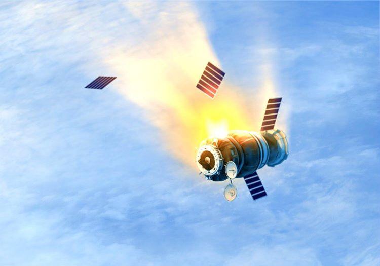 Düşen bir uydu çoğu zaman risk oluşturmaz, çünkü düşeceği yer belirlenmiş olur.