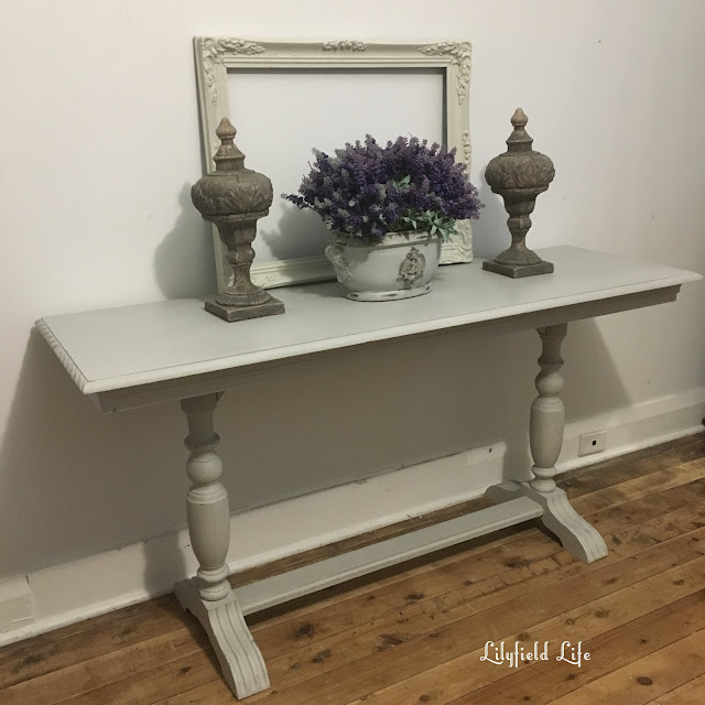 vintage console hall table hand painted Lilyfield Life