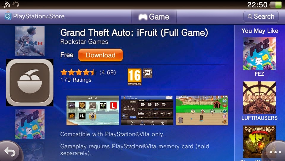 Ps4vitanews Grand Theft Auto Ifruit Now Available For The Ps Vita