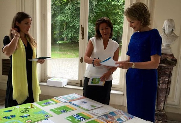 Queen Mathilde, Heidi De Pauw, Child Focus -Center for Missing and Sexually Exploited Children, started new campaign of Dossier 116 000, Natan lace dress