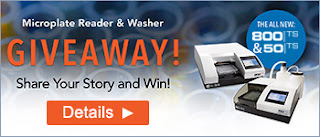 Microplate Reader and Washer Giveaway