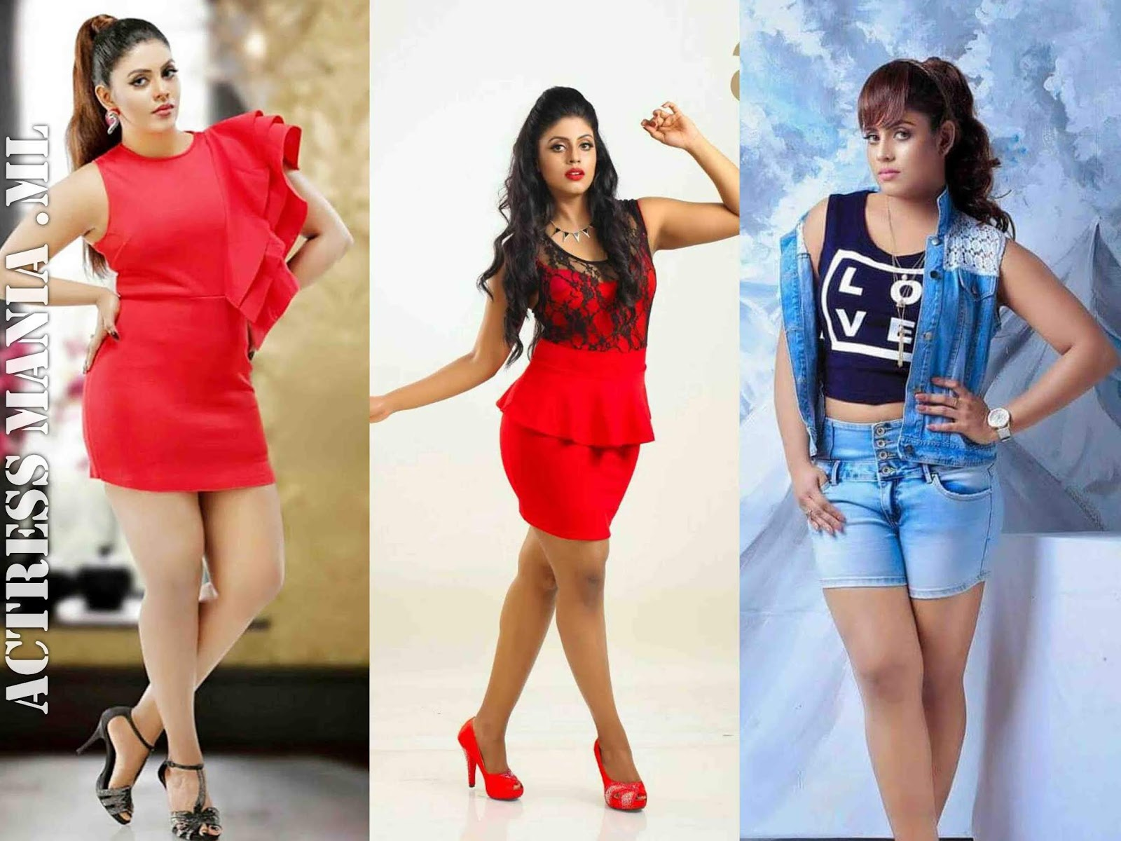 Iniya Hot Thighs Photos