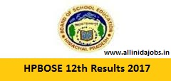 HPBOSE 12th Results