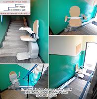 Cena krzesełka schodowego na schody proste