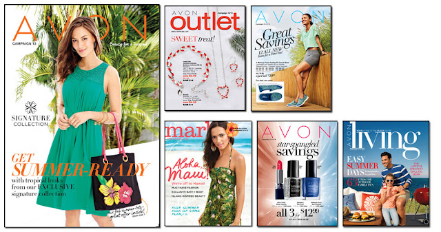 Avon Campaign 13 2016 Avon Outlets, Avon mark. magalog, Avon Living, Avon Flyer. The Online date on this Avon Catalog 5/28/16 - 6/10/16