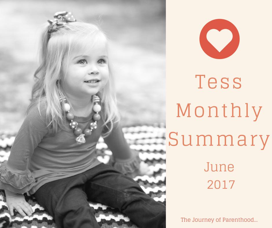 Tess Monthly Summary: June 2017