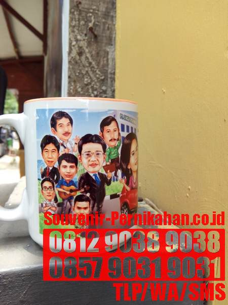 DIGITAL COLOR COFFEE MUG ADVERTISING BOGOR