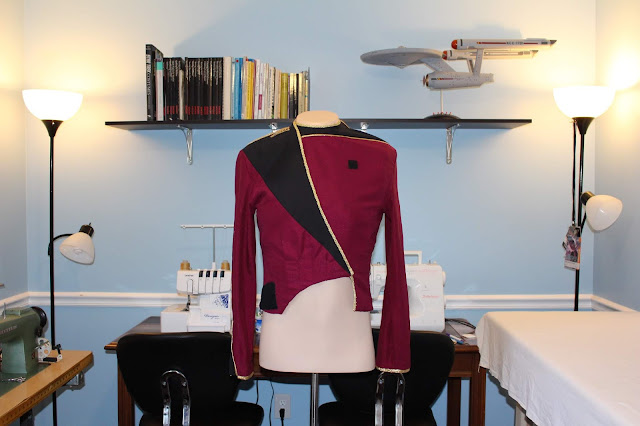 Free TNG season 1 admiral jacket pattern