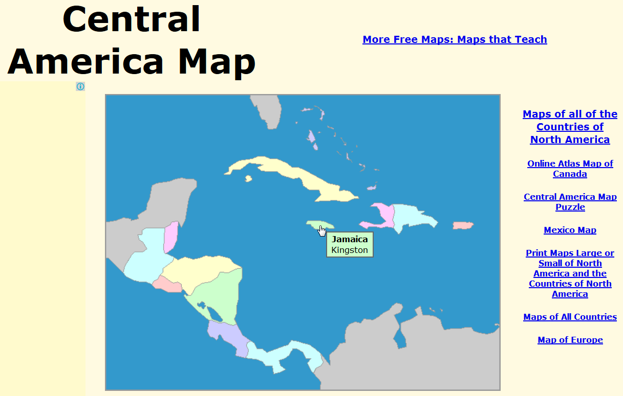 Map Of South America Jamaica.Cute Geography Geography Of Latin America Easy Maps For Beginners