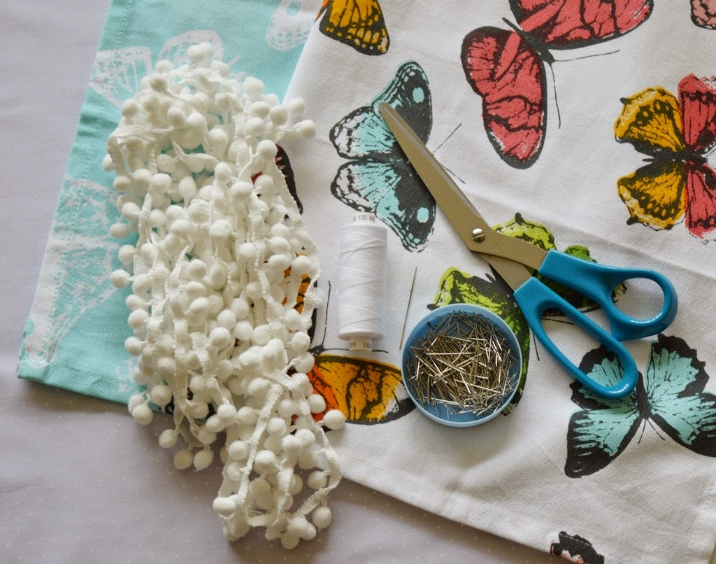 Louise Dawson Design: How To    Make Pretty Napkins Using