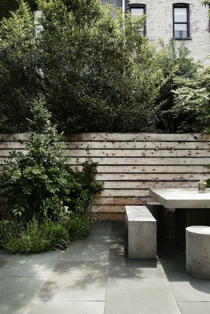 Amenagement Jardin Et Terrasse En Ville D Une Maison A Brooklyn