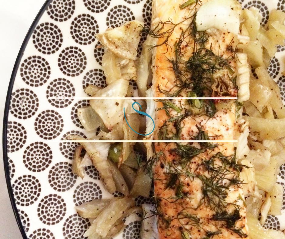 #Salmon & fennel papillote | Papillote de saumon & fenouil