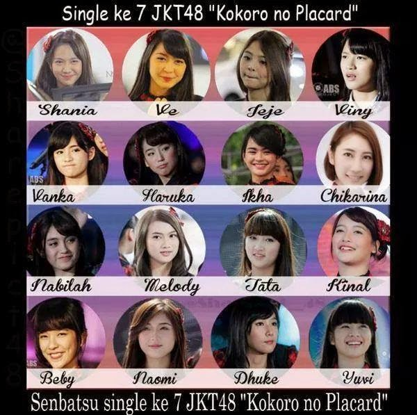 Download Lagu Thank U Next Wapka: Download Full Single JKT48 Kokoro No Placard
