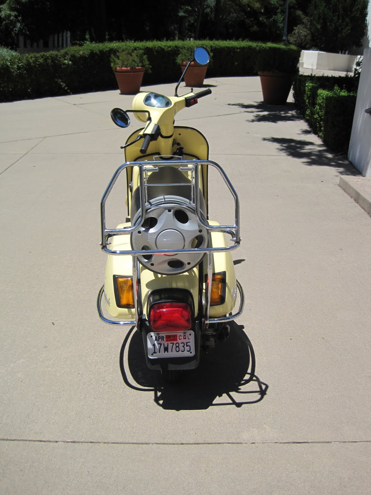 With low-miles/similar condition, Bajaj Chetaks like this sell for around  $1600 without the upgrades. Upgrades and recent tune-up is about $450 plus  $50 for ...