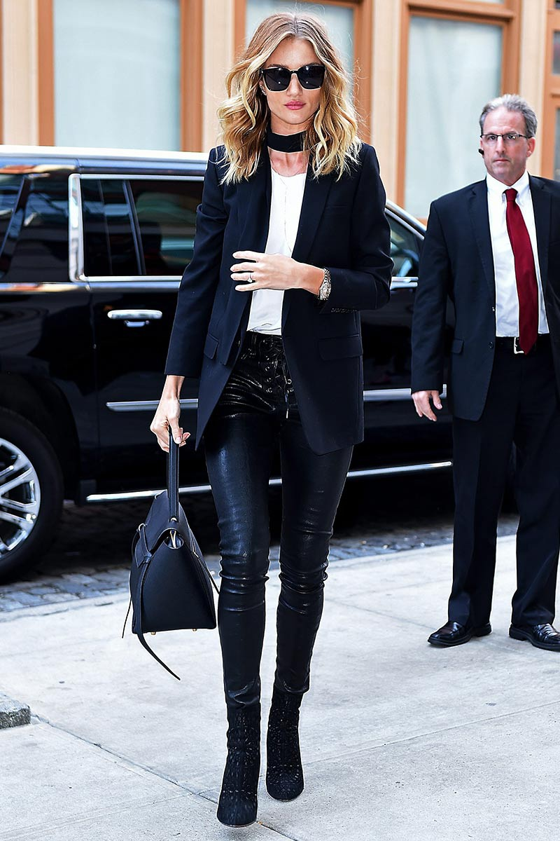 Rosie Huntington-Whiteley Street Style {Cool Chic Style Fashion}