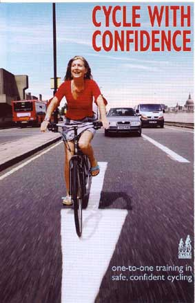 CTUK cycle training flyer on lambethcyclists.org.uk