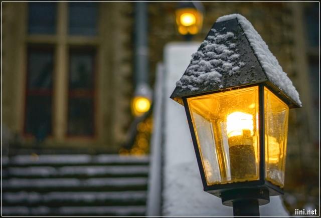 Ngọn đèn vàng đêm Đông