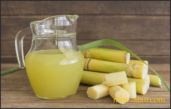 الفوائد الصحية لعصير القصب