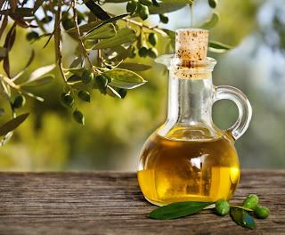 cara hilangkan kelemumur minyak zaitun