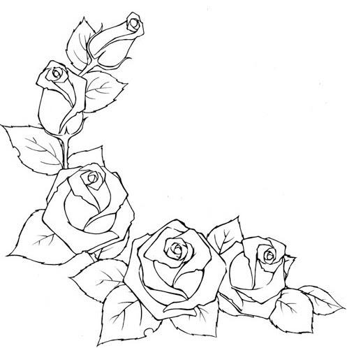 7 Das Artes Como Desenhar Rosas E Botões