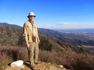View east from Jones Peak (3375'), Dan Simpson, Angeles National Forest