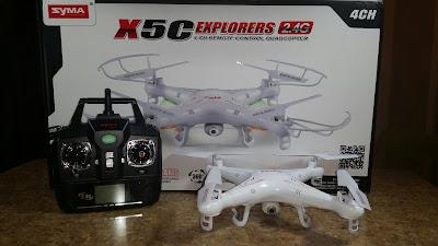 Spesifikasi Syma X5C Explorer - OmahDrone