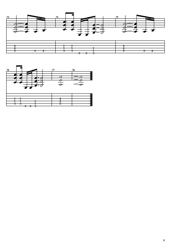 3 Doors Down - When I'm Gone Chords Guitar Tabs And Sheet
