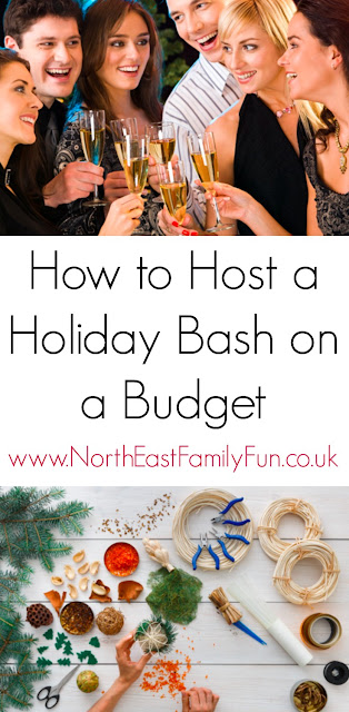 How to Host a Holiday Bash or Christmas party on a Budget by North East Family Fun