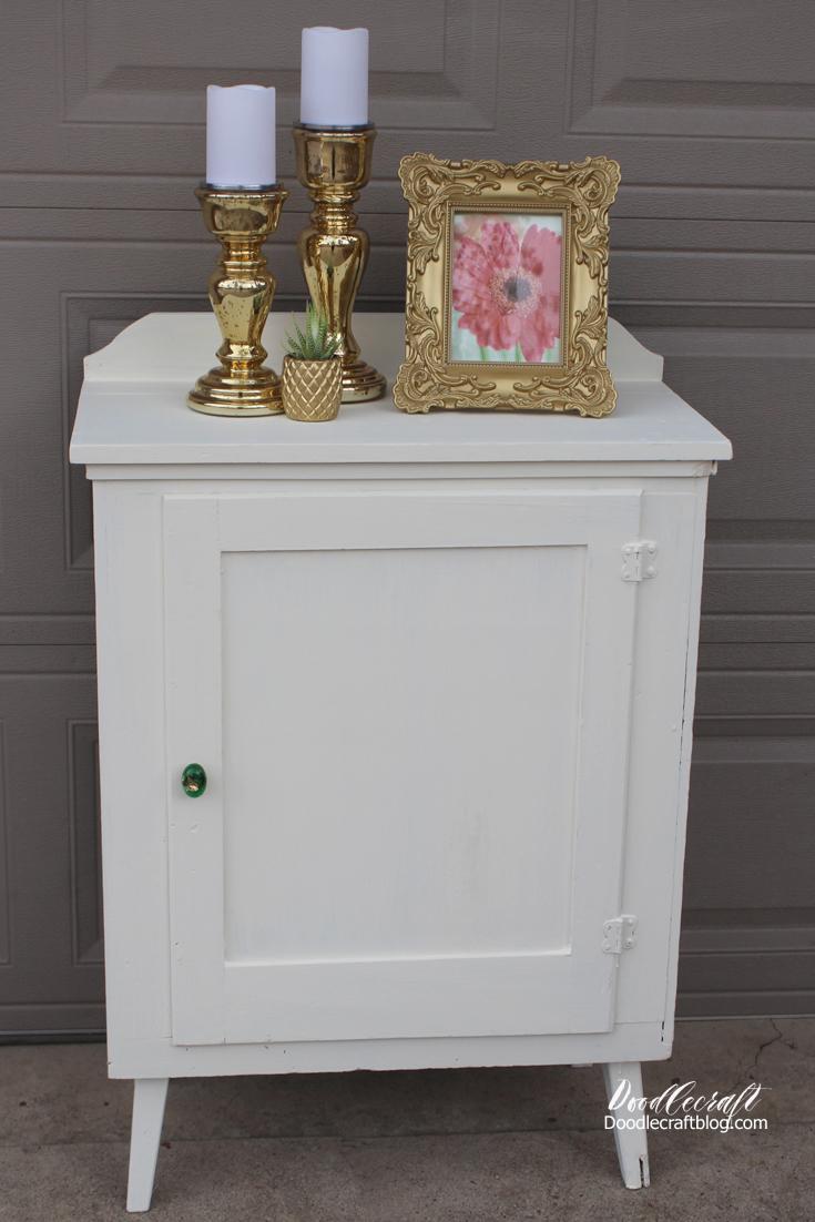 doodlecraft diy shabby chic furniture cabinet. Black Bedroom Furniture Sets. Home Design Ideas