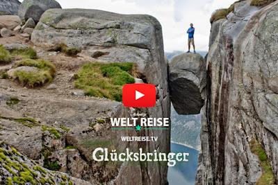 Kjerag, Kjeragbolten in Norwegen, Musikvideo von Arkadij aus Bremerhaven