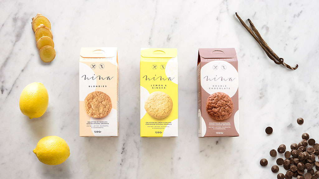 Inspirasi Desain Kemasan Packaging - Nina Ginger Cookie